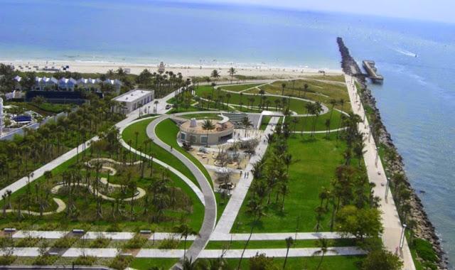 Playa South Pointe Park en Miami Beach