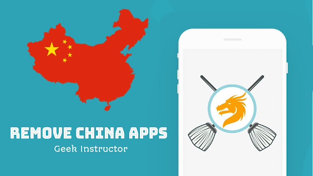 Remove all China apps from your phone