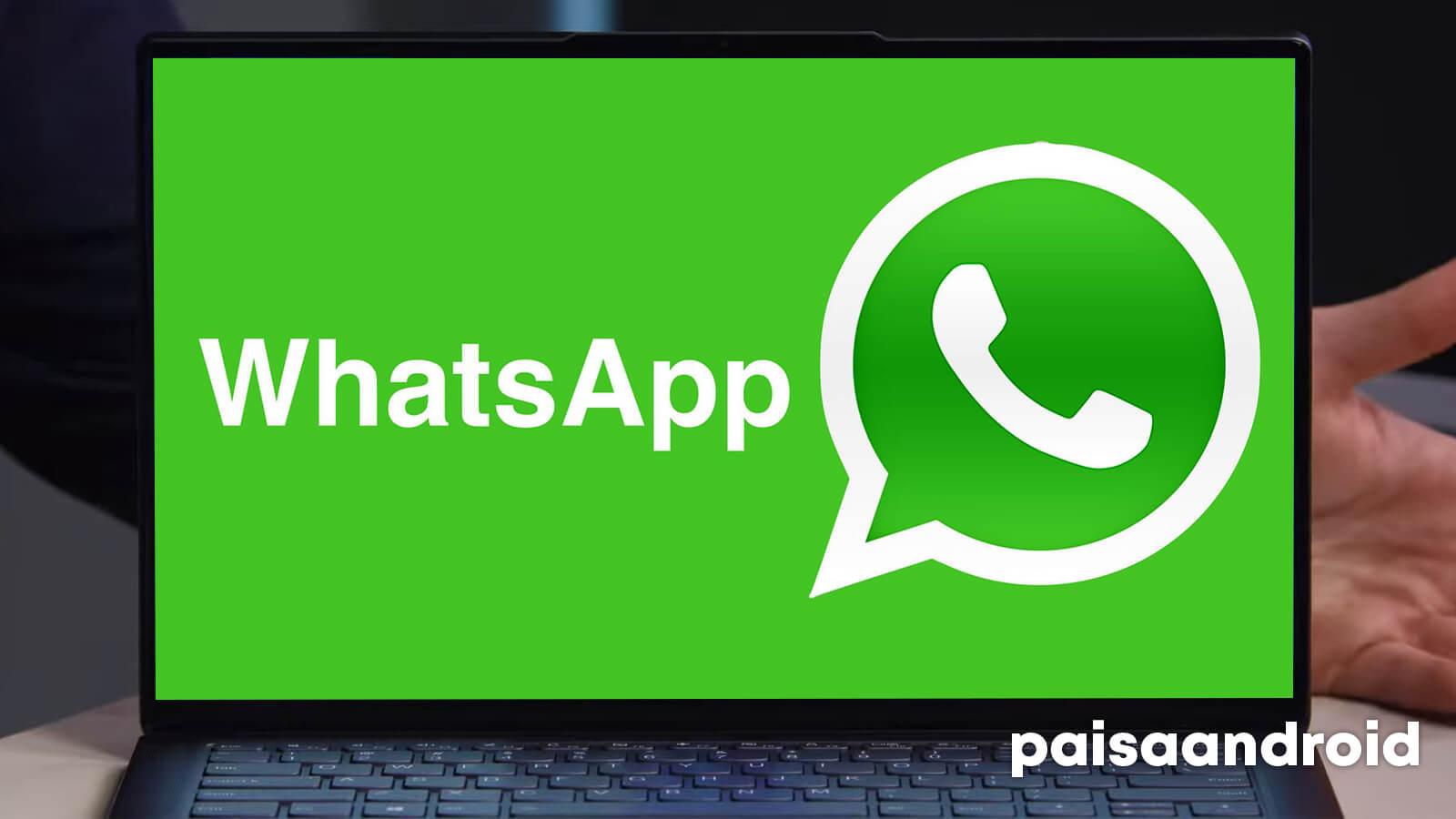 WhatsApp para PC windows