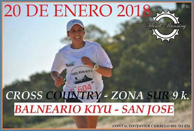 9k Cross country Zona Sur en Kiyú (San José, 20/ene/2018)