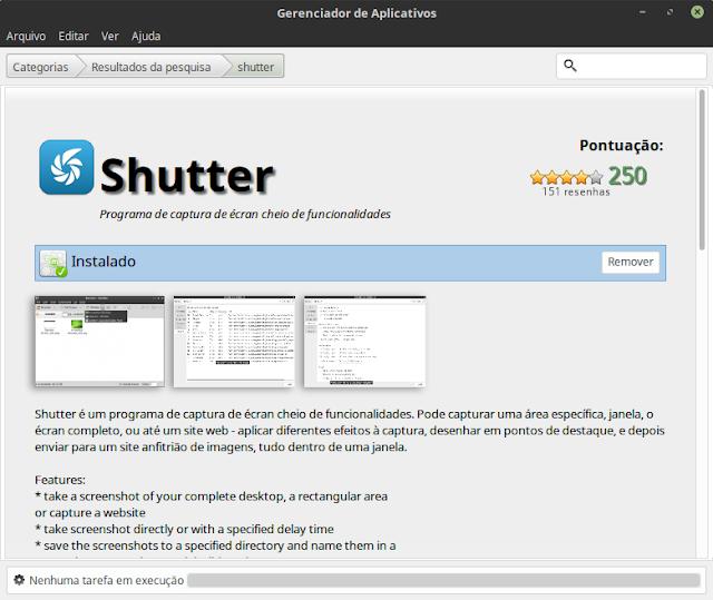 Linux Mint Shutter