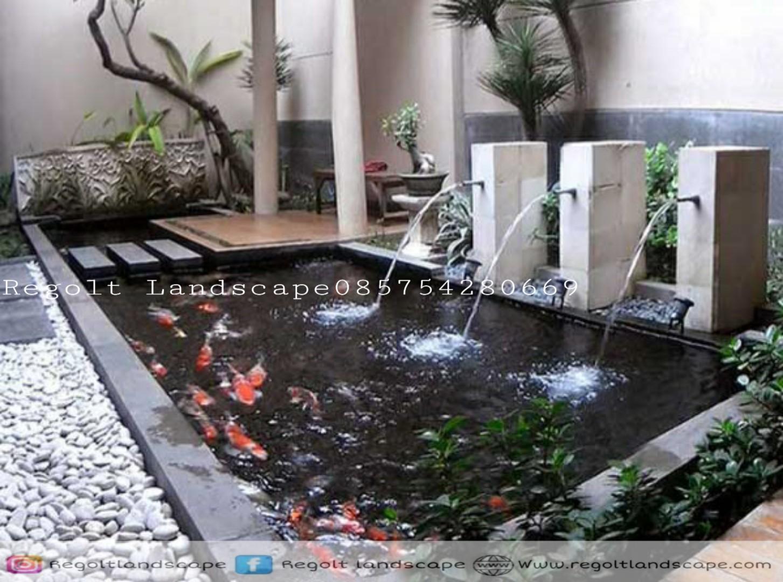 Jasa Pembuatan Kolam Ikan Koi Minimalis Di Malang