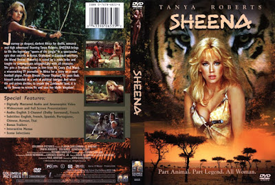 Sheena / Sheena, Queen of the Jungle. 1984. HD.