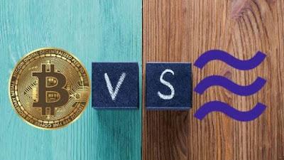 Perbedaan antara Coin Libra dan Bitcoin
