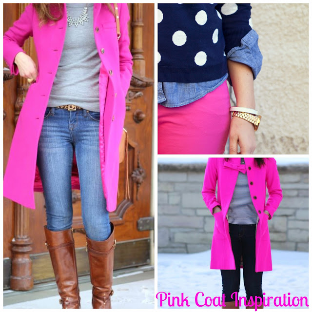 pink trench coat outfits