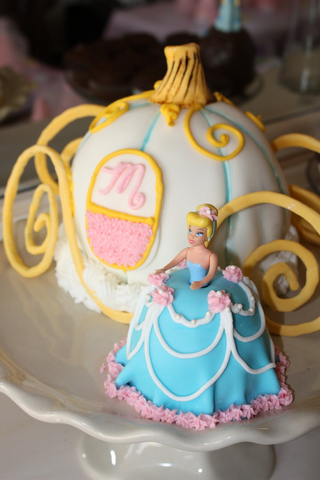 Confessions Of A Project Aholic Princess Cinderella Cake