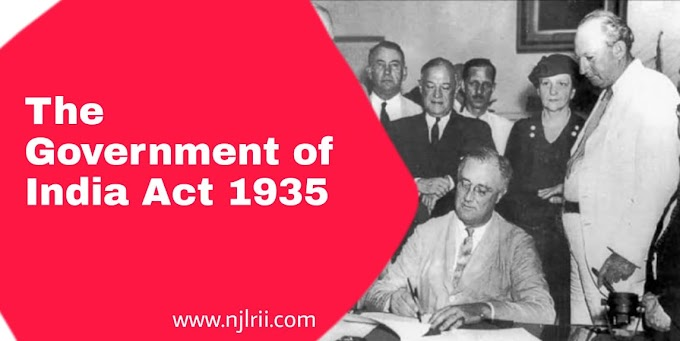 An Analysis of The Government of India Act 1935