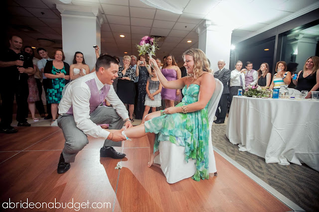 A Groom's Take On The Garter Belt Toss
