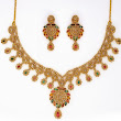 Collection of Designer Gold Neck Pieces