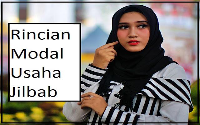 modal usaha jilbab