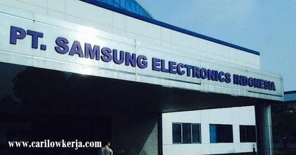 INFO Lowongan Kerja PT Samsung Electronics Indonesia Terbaru