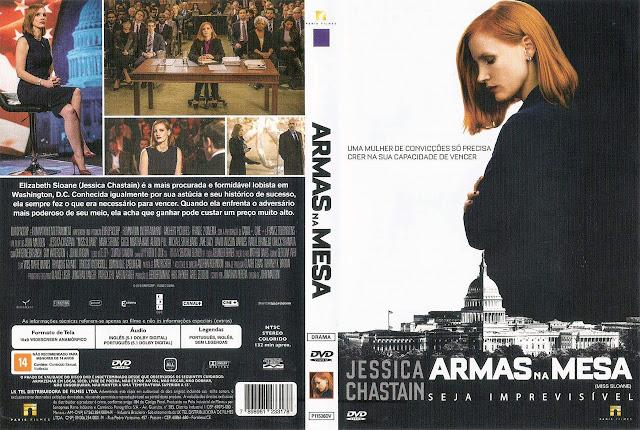 Capa DVD ARMAS NA MESA