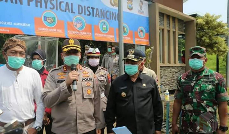 Jalibar Kabupaten Malang Di Tetapkan Jalur Tertib Physical Distancing