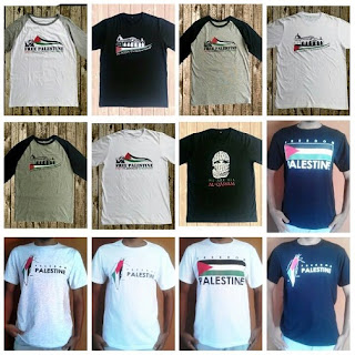 Supplier Kaos Palestina Murah