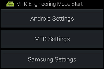 MTK Engineering Mode Disguise, Includes Samsung Settings In Latest