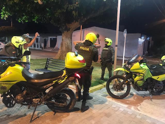 785 capturas 19 vehículos y 76 motos recuperadas en el Cesar