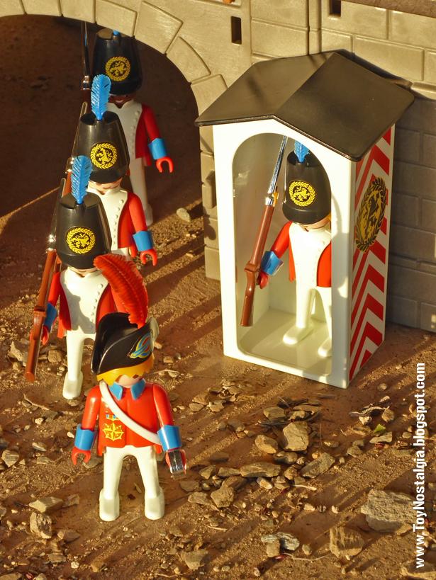Playmobil 3544, cambio de guardia inglesa  (Playmobil 3544 - redcoats)