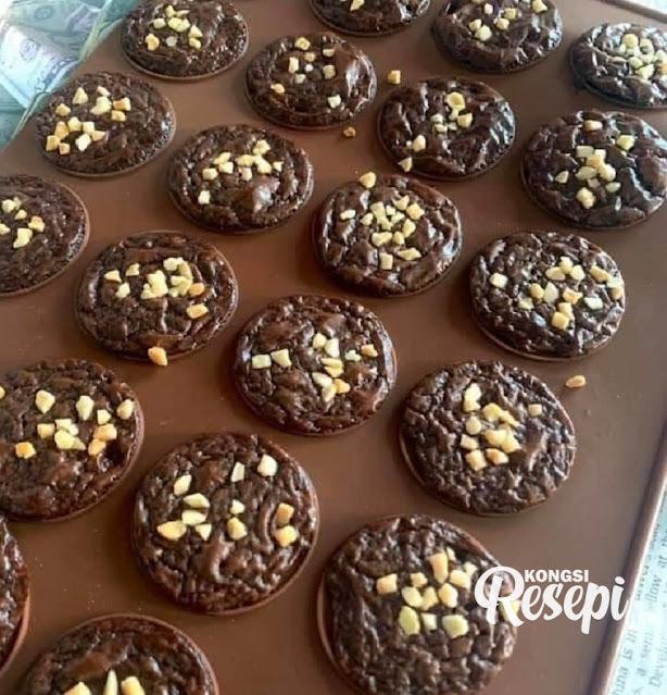 Cara Buat Brownies Cookies Yang Rangup Dan Sedap. Resepi Rahsia Untuk Buat Jualan! - Kongsi Resepi