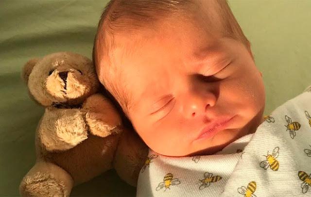 Enrico filho de Karina Bacchi