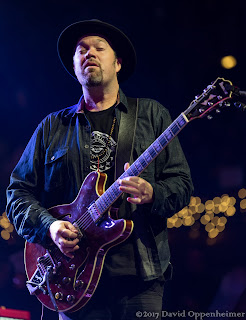 Eric Krasno performing at the Warren Haynes Christmas Jam