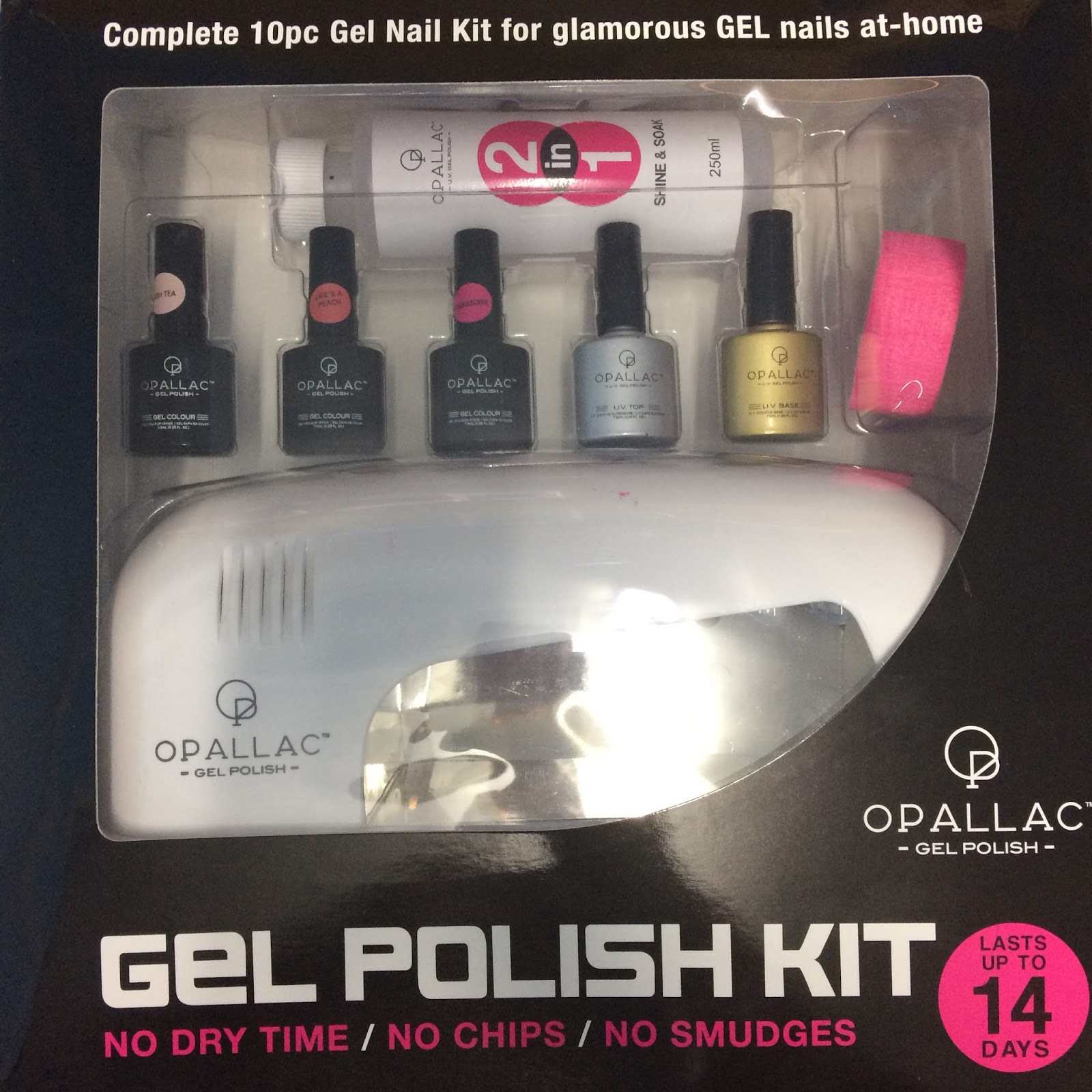 First experience with gel nails at home - Opallac Gel Polish ...