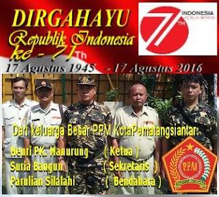 Dirgahayu Indonesia Merdeka yang ke 71 tahu