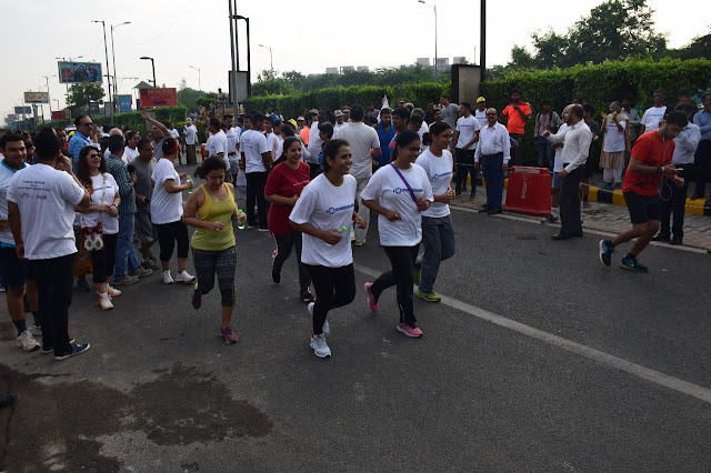 Saroj Cardiac Sciences in association with UPF conducts mini - marathon