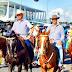 Bolsonaro chega a cavalo em manifestação pró-governo e o povo grita 'Renan vagabundo'
