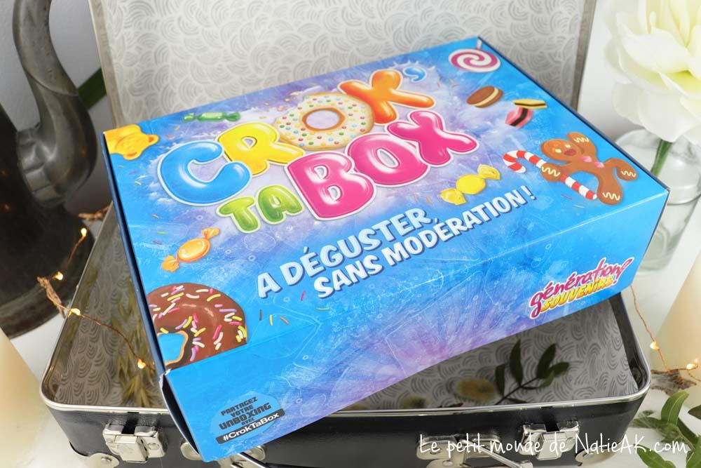 Génération Souvenirs Box de bonbons Crok' Ta Box