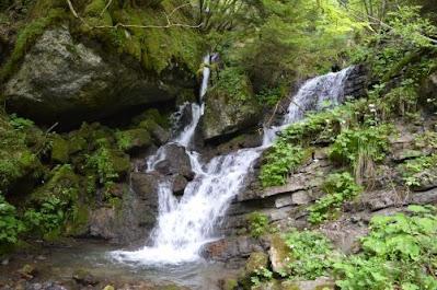 Cascata dell'Hoffentol  a Guardia (Folgaria Trento) - Gite e vacanze in Trentino