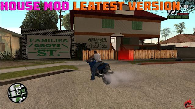 GTA San Andreas House Mod Leatest Version
