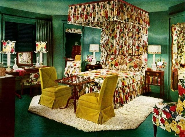 25 Cool Photos Show Bedroom Styles in the 1940s ~ Vintage ...