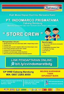 Lowongan Kerja PT. Indomarco Prismatama Cabang Bandung Juli 2020