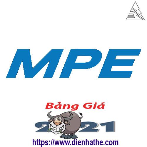 Bảng Giá Thiết Bị Điện MPE 2021