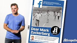 A letter to Mark Zuckerberg from Norway's Aftenposten