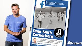 A letter to Mark Zuckerberg from Norway's Aftenposten