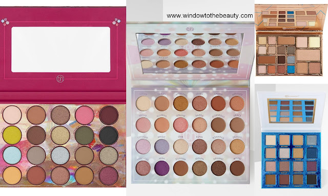 Bh Cosmetics brown palettes