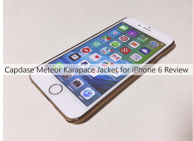 Capdase Meteor Case for iPhone 6 Review