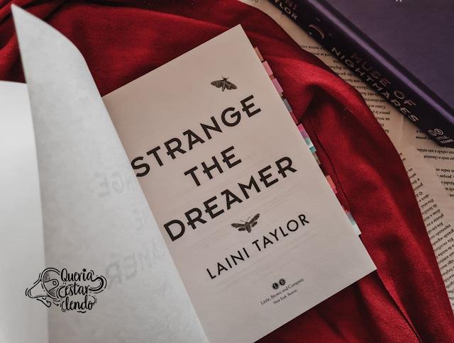 Resenha: Um estranho sonhador - Laini Taylor
