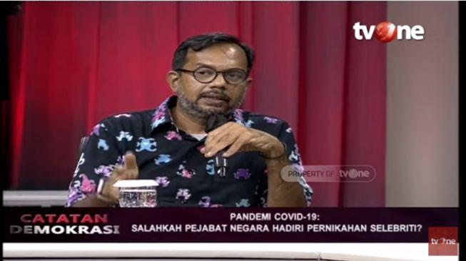 Kritik Jokowi Hadiri Nikahan Atta-Aurel, Haris Azhar Tegas Menantang Begini