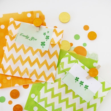 St Patrick's Day | 3 Easy Party Favor Ideas