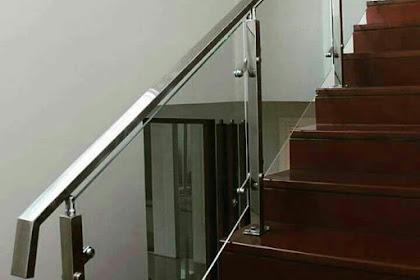 Railing Balkon Stainless Kaca Dan Railing Balkon Stainless Akrilik Sama-Sama Keren