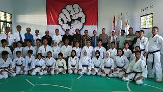 Ketua DPRD Buka Kejuaraan Karate Gojukai