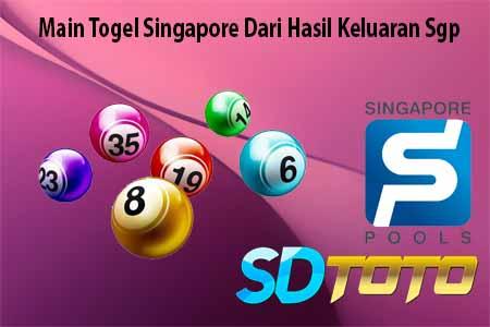Main Togel Singapore Dari Hasil Keluaran Sgp