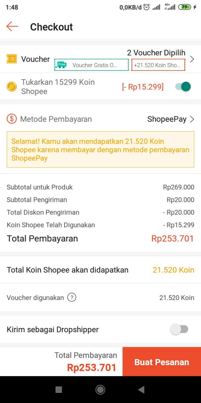 Beli Nusantara HD di shopee