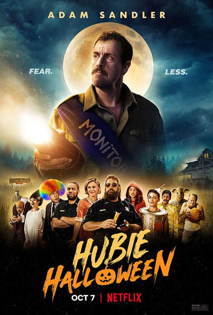 Cartel El Halloween de Hubie
