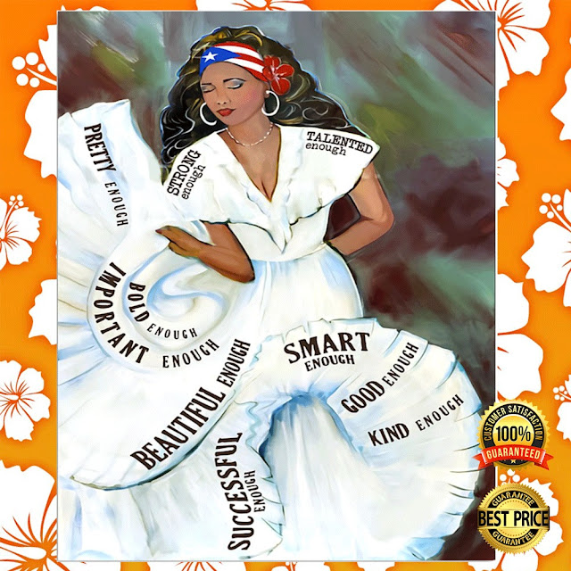 [Sale off] Puerto Rico Girl Bomba Dance Poster