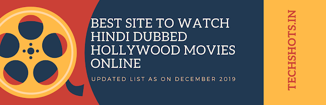 Best Site To Watch Hindi Dubbed Hollywood Movies Online