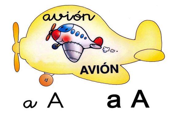 Alfabeto Ilustrado Em Espanhol Alfabetos Lindos