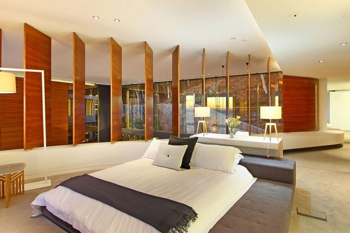 vách ngăn phòng ngủ bằng gỗ công nghiệp 00